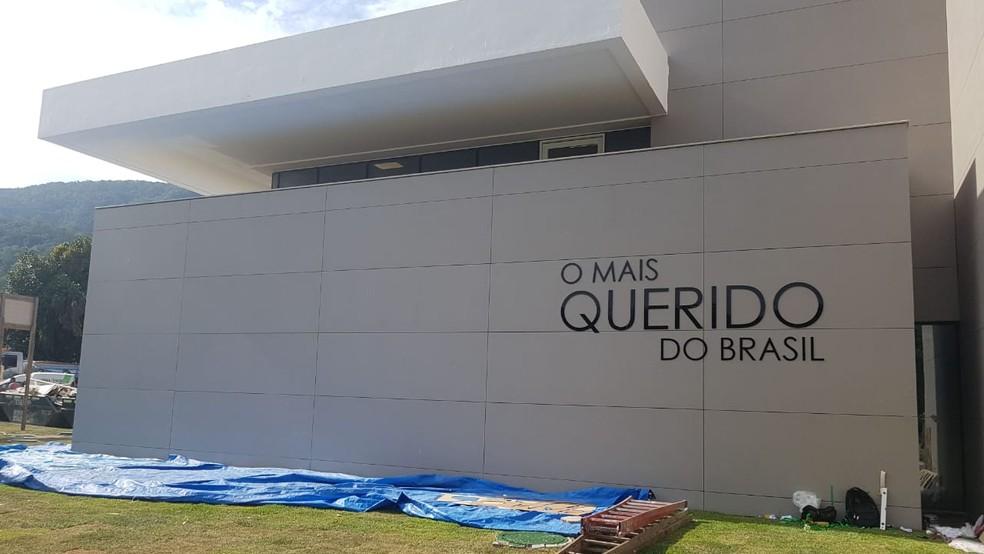 Fotos do novo centro de treinamento do Flamengo — Foto: Divulgação Flamengo