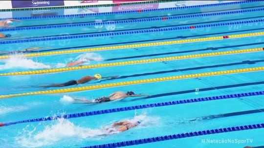 Revezamento 4x100m livre do Brasil é prata no Mundial; Daniel Dias leva o bronze nos 50m costas