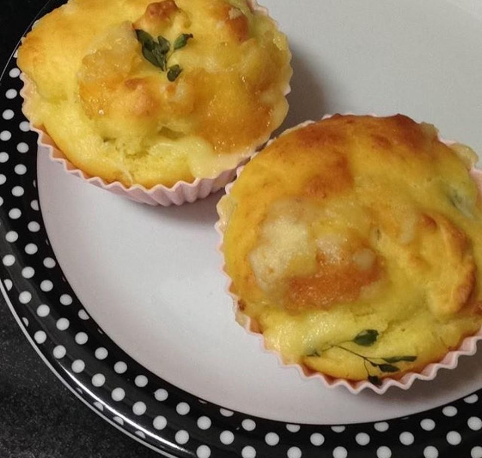 Muffin pode ser feito com o recheio de sua preferência (Foto: Arquivo pessoal)