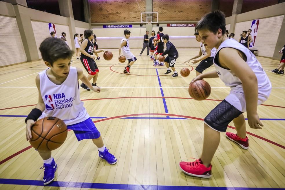 Escolinha da NBA terá nova unidade em Santos — Foto: Divulgação