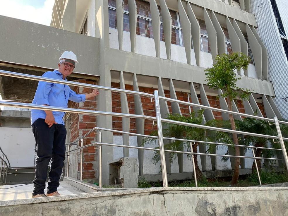 Antigo Hospital Papi será reformado e possibilitará ampliação de serviços e leitos de UTI — Foto: Divulgação