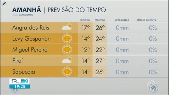 Terça-feira será de tempo frio no Sul do Rio de Janeiro