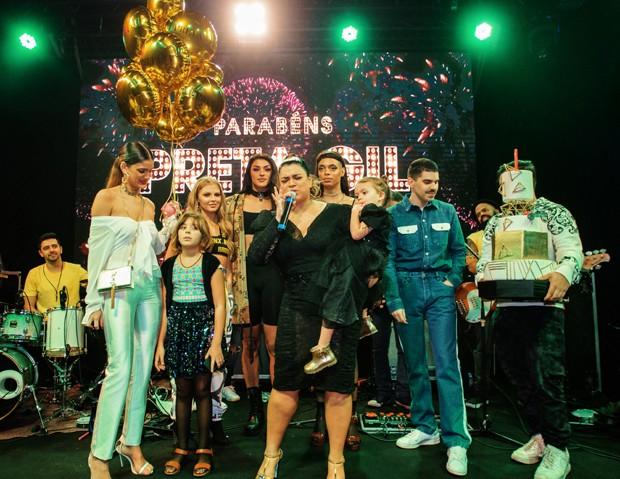 Parabéns de Preta Gil  (Foto: V RebeL/Divulgação)