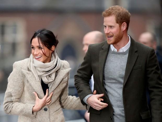 Meghan Markle e Príncipe Harry (Foto:  )