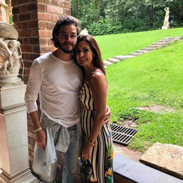 Tuilo Gadelha e Fatima Bernardes (Foto: Reprodução/ Instagram)