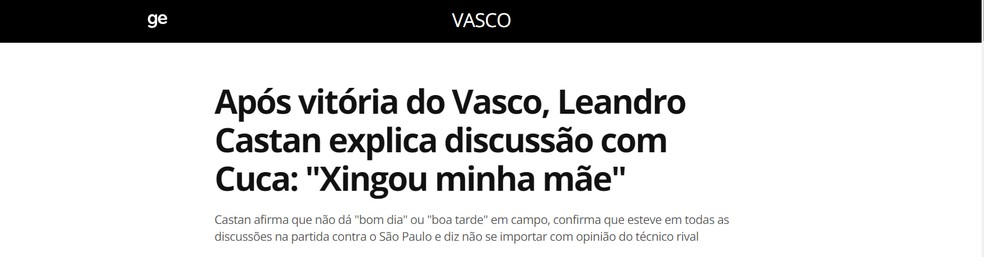 Leandro Castan x Cuca: capítulo 2 — Foto: Reprodução / GloboEsporte.com