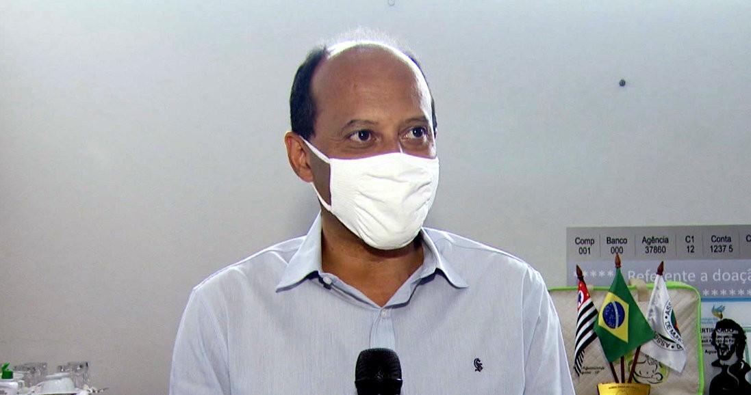 Prefeito de Aguaí, Alexandre Araújo (PSDB), testa positivo para Covid-19