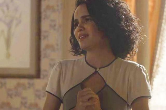 Carol Macedo é Inês em 'Éramos seis' (Foto: TV Globo)