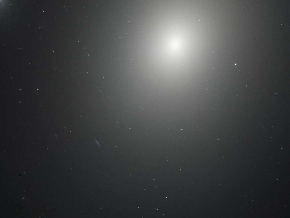 A galáxia elíptica M86 (Foto: NASA)