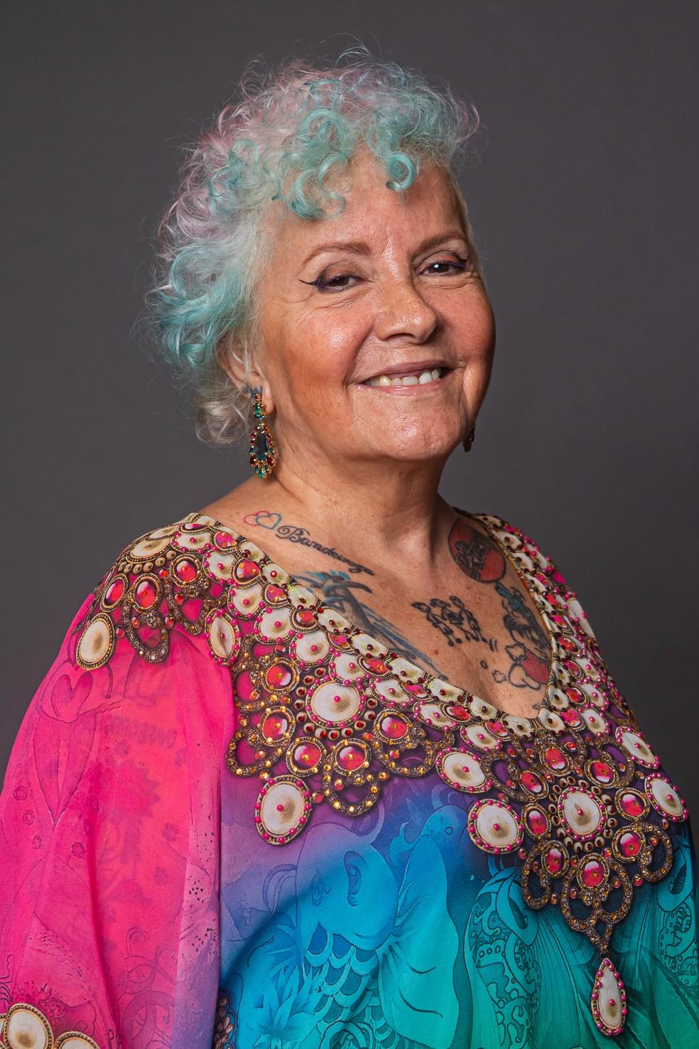 Áurea Catharina é participante da 1ª temporada do 'The Voice +' — Foto: Artur Meninea / Gshow