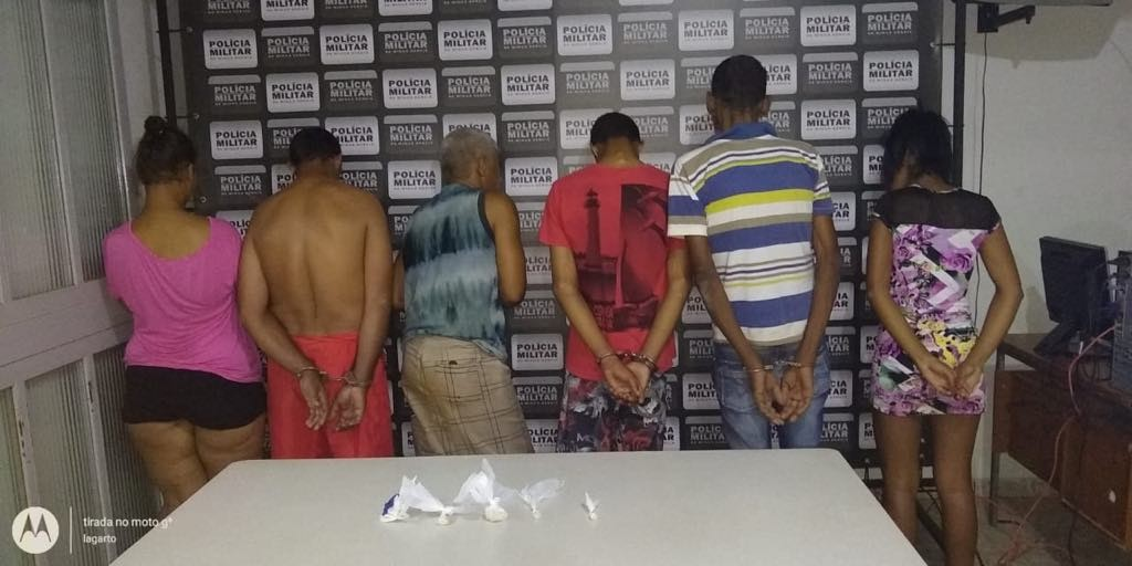 Grupo suspeito de envolvimento com tráfico de drogas é detido em Abaeté - Noticias
