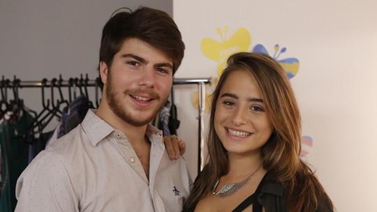 Manuela Llerena e Thales Cavalcanti comentam cenas de 'Eu Só Quero Amar'