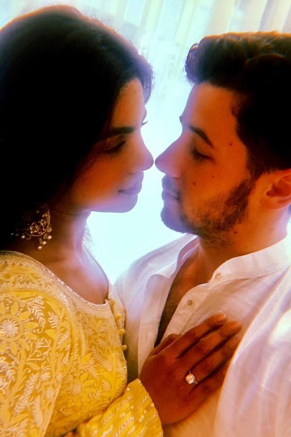 Priyanka Chopra e Nick Jonas (Foto: Instagram/Reprodução)
