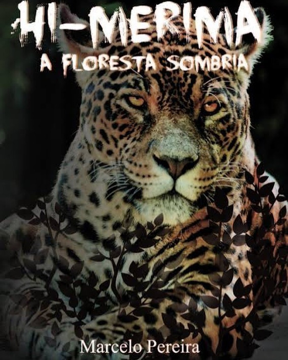 Estudante de biologia, Marcelo encontrou na literatura uma forma de proteger a natureza — Foto: Divulgação/Hi-Merimã - A floresta sombria
