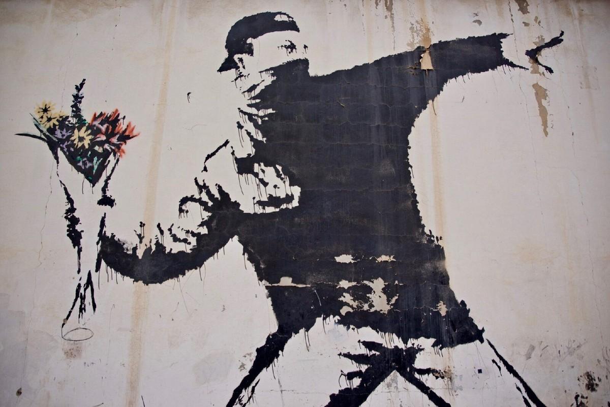 Banksy perde batalha legal por direitos de grafite icônico | Pop & Arte