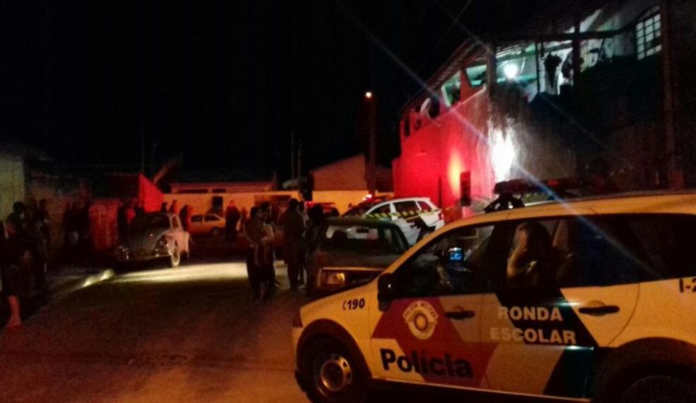 Vítima não resistiu aos ferimentos e morreu no local (Foto: Marcos Aurélio/Jornal de Guará)