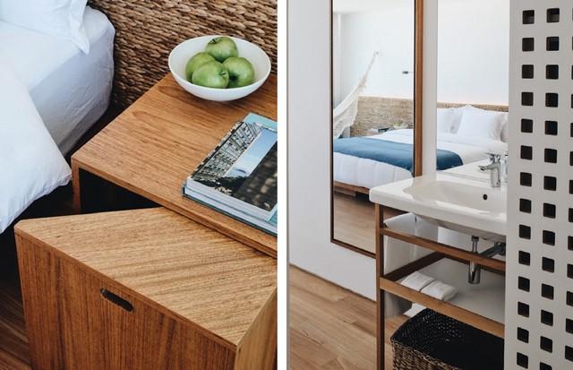 Detalhes do décor, com móveis concebidos pela Bernardes Arquitetura.  (Foto: Divulgação)