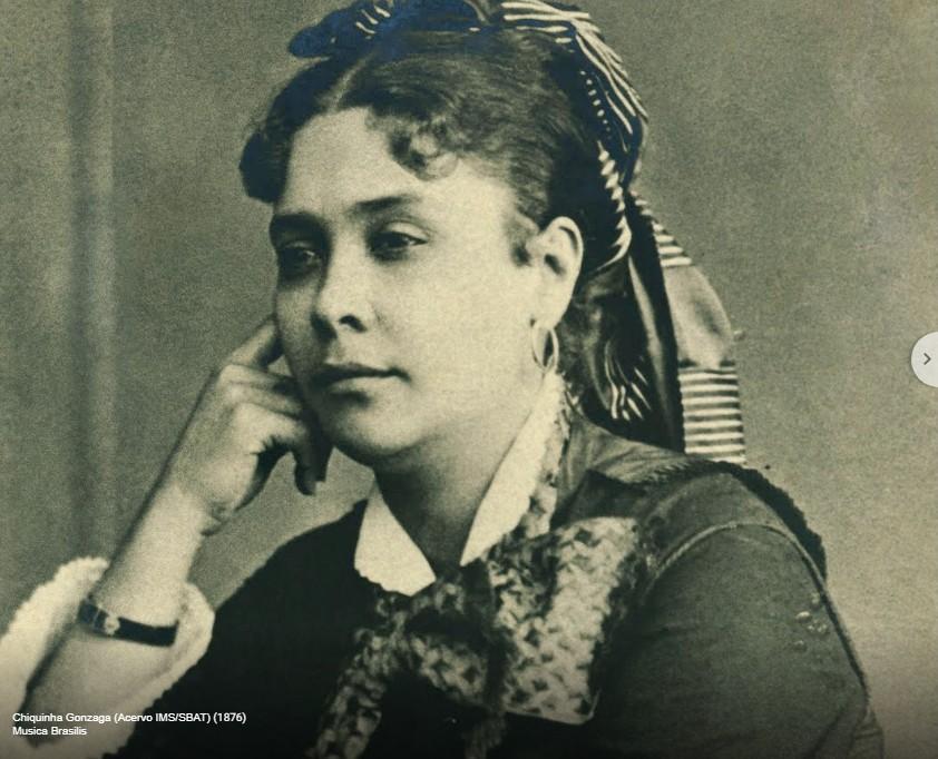 Mostra homenageia Chiquinha Gonzaga (Foto: Reprodução Google Arts & Culture (acervo IMS/BAT))