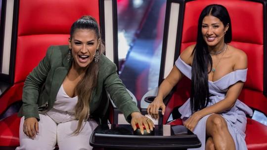 'The Voice Kids': Simone & Simaria comemoram quatro novas vozes