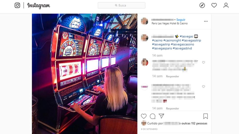 Alguns cassinos de Las Vegas proíbem seus visitantes de tirar fotos em seu interior — Foto: Reprodução/Instagram