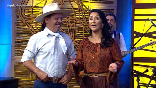 Marcio Correia & Grupo Gauchismo, Sérgio Rojas e Clary Costa foram atrações do 'Galpão Crioulo'