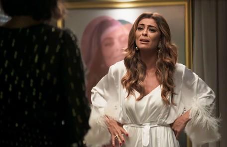 Na segunda-feira (3), depois de reencontrar Amadeu (Marcos Palmeira), Maria da Paz (Juliana Paiva) revelará para o ex-noivo que eles têm uma filha Reprodução