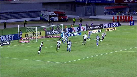 Análise: CSA sofre com queda física, mas reage e escapa da derrota para o Atlético-MG no fim