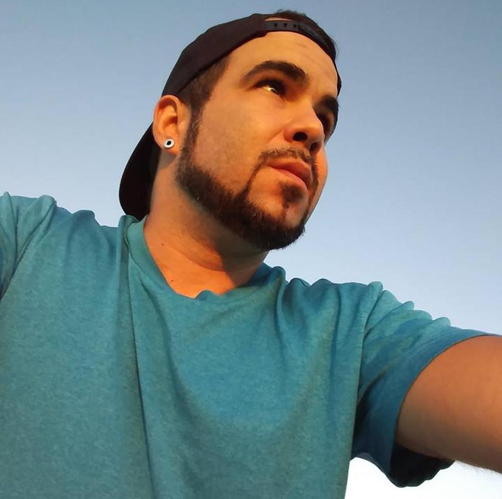 Thelison Cristiano Oliveira morreu em acidente de moto nos EUA — Foto: Arquivo Pessoal