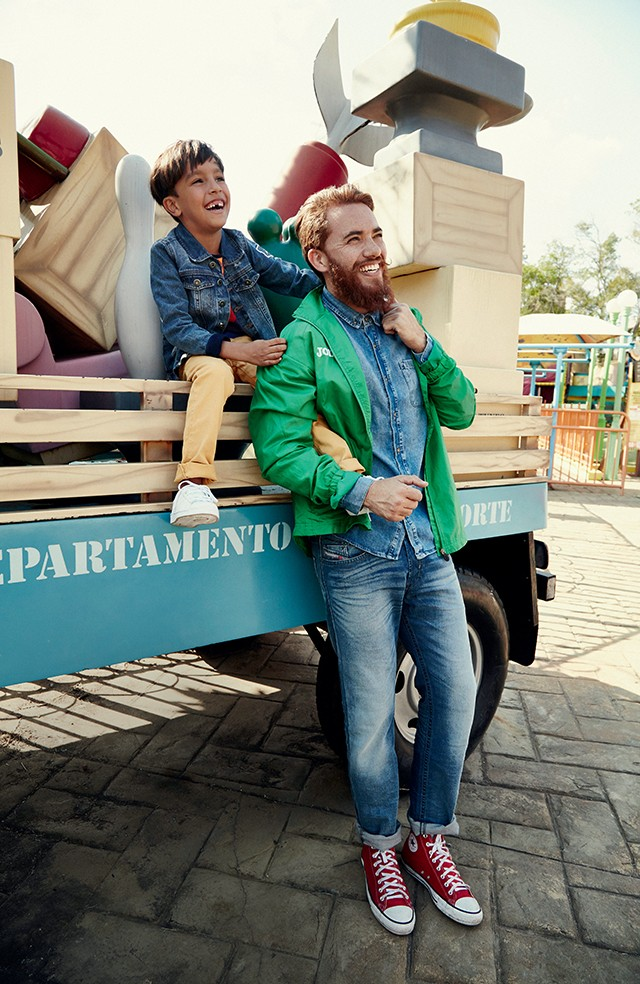 Moda especial de Dia dos Pais (Foto: Moda especial de Dia dos Pais (Foto – Raquel Espírito Santo / Editora Globo  |  Styling – Erica Folloni  |  Beleza – Vanessa Castellini))