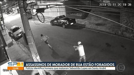 Assassinos de morador de rua em Santo André estão foragidos