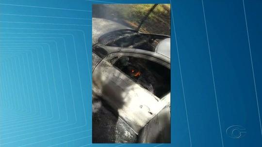 Corpo é encontrado em mala de carro carbonizado em Coité do Nóia, Alagoas