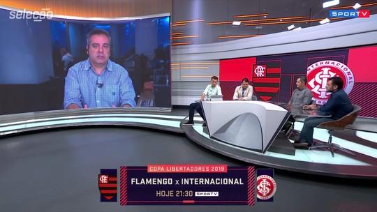 Jornalista aponta a provável postura do Inter no jogo contra o Flamengo