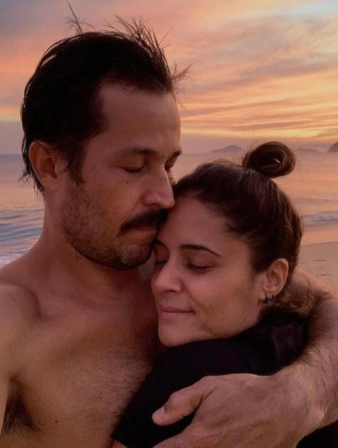 Roger  Gobeth e mulher, Samantha Santos (Foto: Reprodução/Instagram)