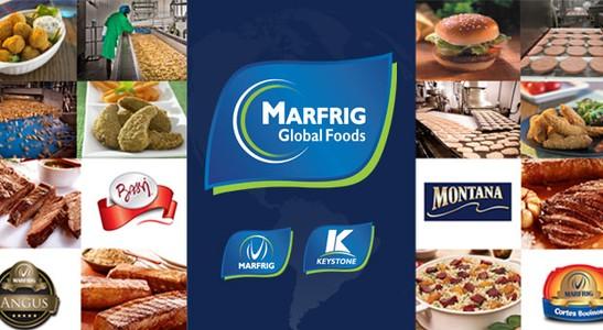 Destaque da empresa Marfrig