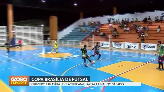 Cruzeiro e Brasília fazem a grande decisão da Copa Brasília de Futsal