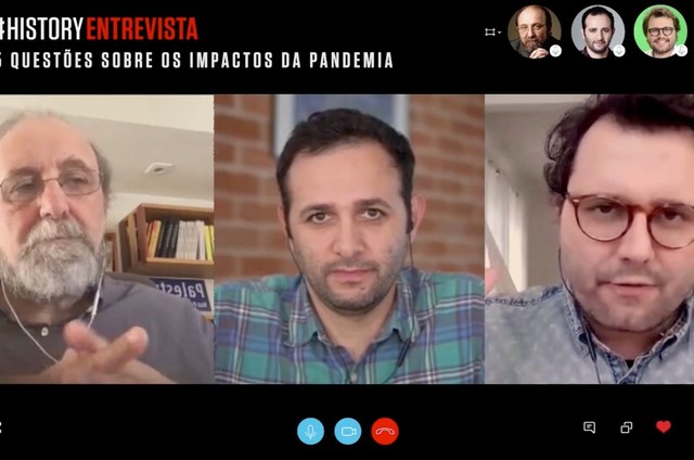 Iberê Camargo, Miguel Nicolelis e Thiago Gomide (Foto: Divulgação)