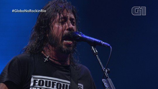 """Foo Fighters toca """"Learn to Fly"""" no Rock in Rio"""
