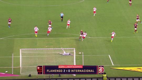 """André Rizek critica estratégia do Inter contra o Flamengo na Libertadores: """"Foi covarde"""""""