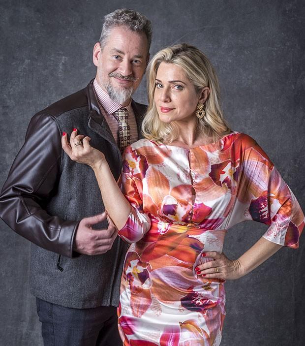 Dan Stulbach e Letícia Spiller em O Sétimo Guardião (Foto: João Cotta/Globo)