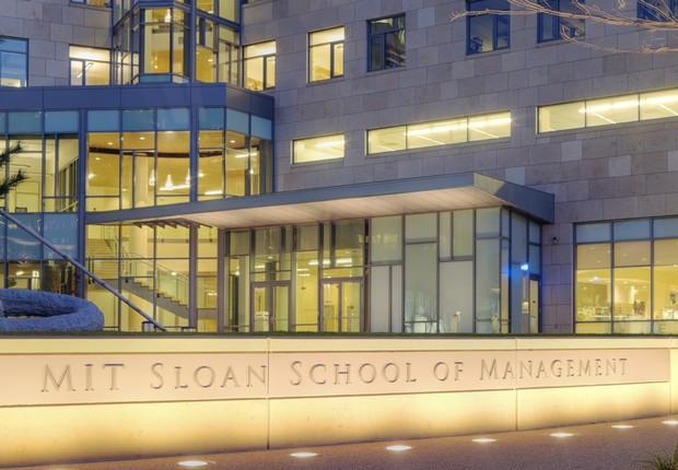 Fachada da MIT Sloan School of Management (Foto: Divulgação)