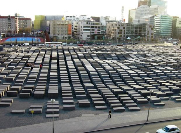 holocausto-memorial-berlim (Foto: Reprodução)