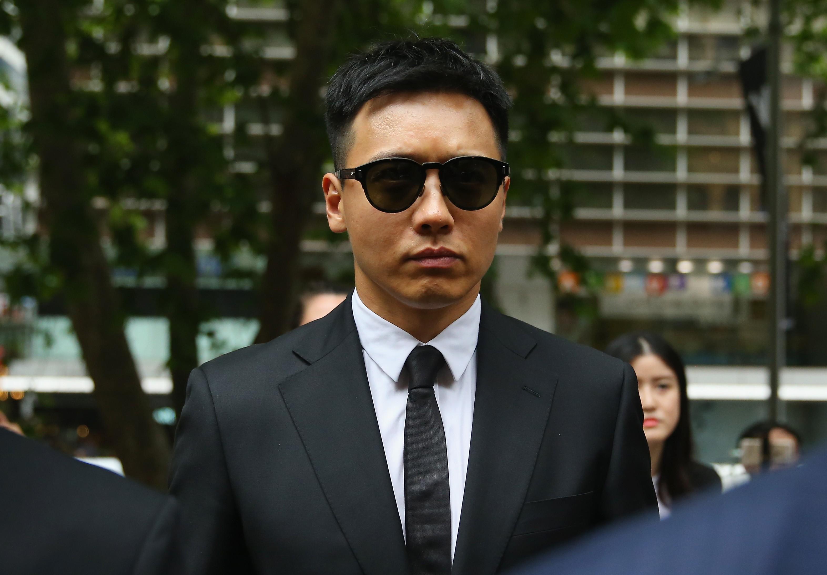 O ator chinês Gavin Gao em um tribunal em Sidney, na Austrália (Foto: Getty Images)