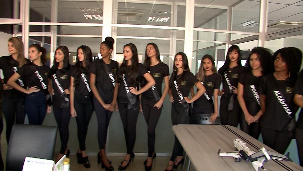 Miss Maranhão será conhecida neste sábado (14), em concurso realizado em São Luís (Foto: Reprodução/TV Mirante)