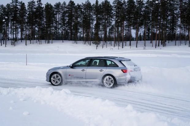 O que eu aprendi dirigindo um Audi S4 sobre um lago congelado na Suécia (Foto: Divulgação)
