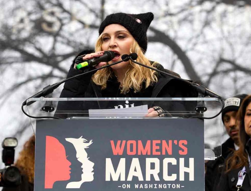 Madonna defende afirmação sobre 'explodir a Casa Branca' e diz que era metáfora | Mundo | G1
