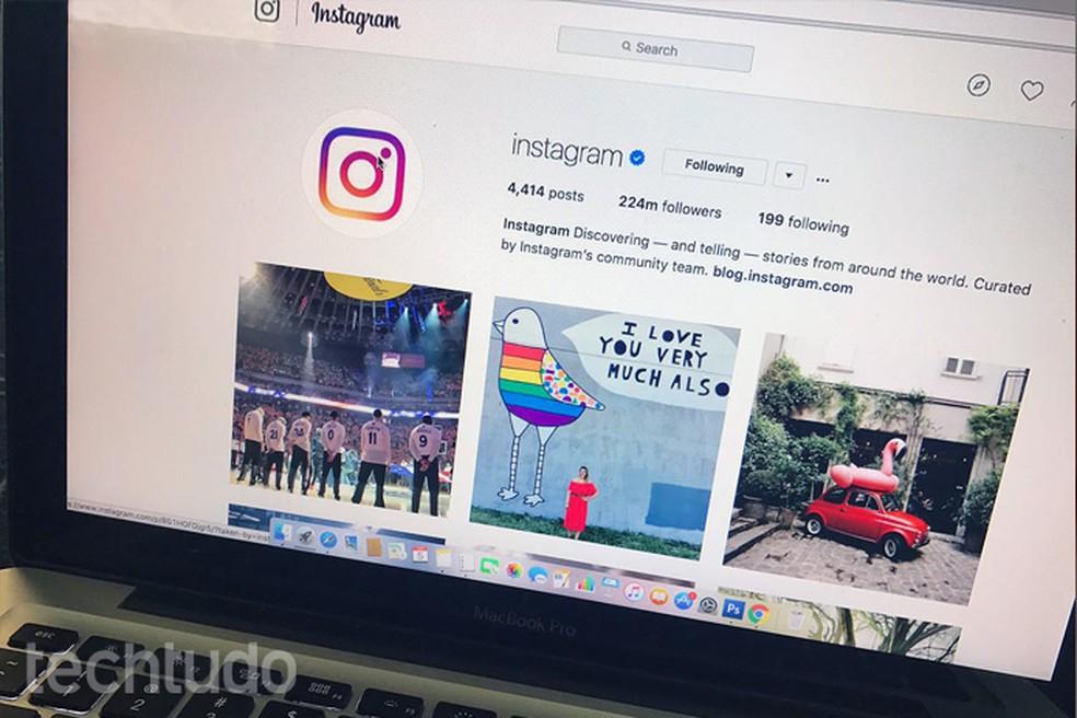 Como baixar fotos do Instagram em maior resolução pelo