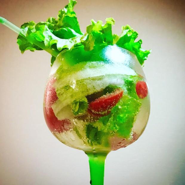 Gin Salad é o drink inusitado para experimentar neste fim se semana (Foto: Divulgação)