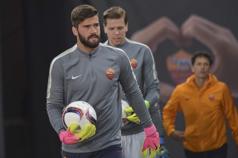 Alisson é um dos destaques da Roma na temporada e está na mira do Real Madrid (Foto: Roma)