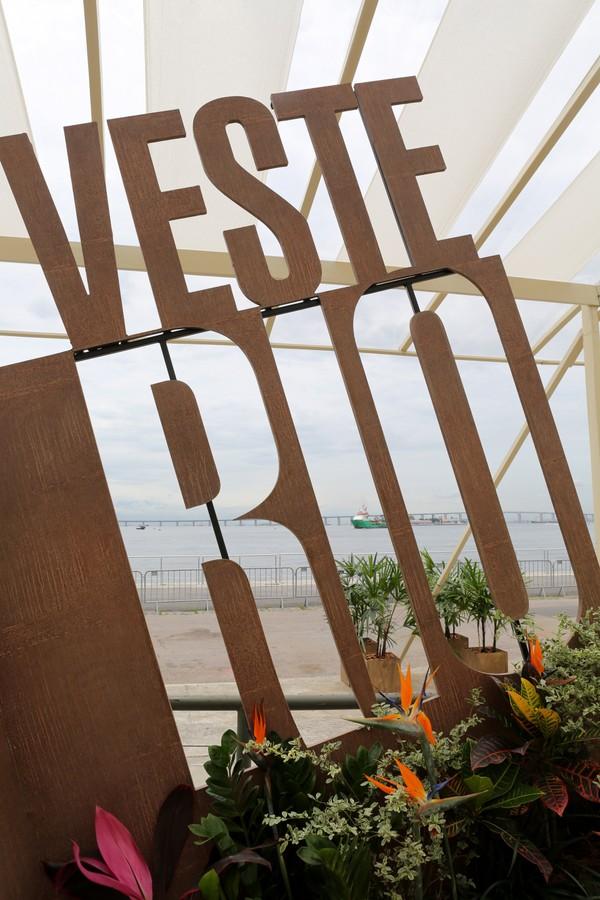 Veste Rio 2018 (Foto: Reginaldo Teixeira)