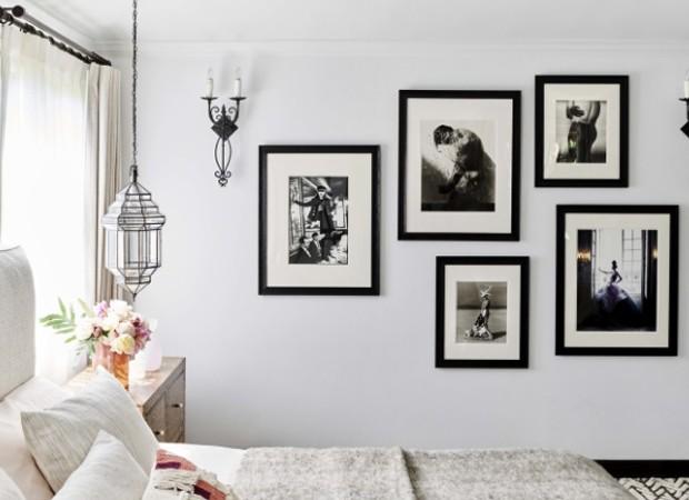 Fotos em preto e branco são as preferidas de Alessandra (Foto: Reprodução)